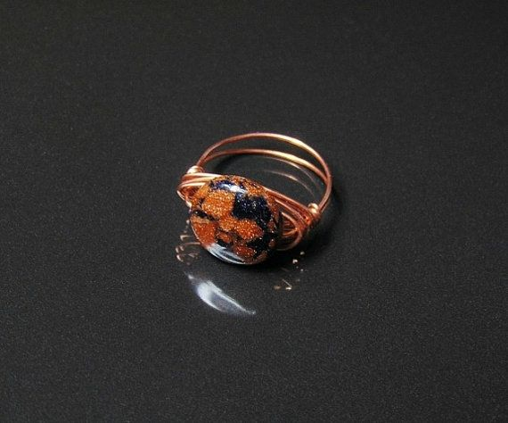 Wire wrapped ring wire wrapped jewelry copper ring by styledonna