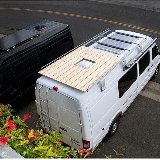 Roofingequipment Roofing Equipment Hiace Camper Van