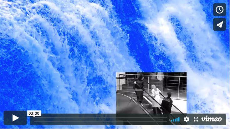Lesia Vasylchenko - Blue waterfall, video K4 gallery, Oslo