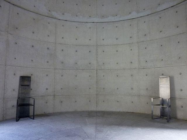 UNESCO Meditation Space, Paris. Tadao Ando.