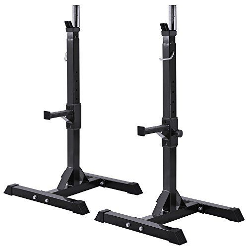 17 best ideas about bench press rack on pinterest bench for Squat rack set
