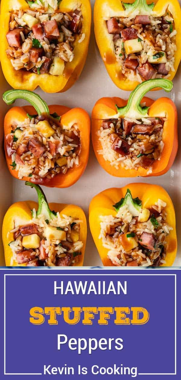 Stuffed Green Peppers Are Given A Creative Twist In This Hawaiian Potluck Version With Spam Rice And Pineapple In 2020 Stuffed Peppers Stuffed Green Peppers Recipes