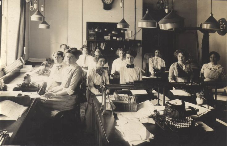 Image result for england accounting office 1910 - 1914