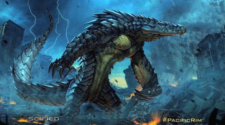 """Pacific Rim #Kaiju es una palabra japonesa que quiere decir bestia extraña, aunque generalmente es traducida al inglés como """"monstruo"""". Específicamente, esta palabra es usada para referirse al género del tokusatsu. Éste término engloba al Kaiju-eiga (películas de monstruos), películas de Kaiju, Kaijin (referidos a monstruos humanoides) y Daikaiju, específicamente una larga lista de monstruos, entre los que destacan Godzilla, Gamera, Mothra, Anguirus, Rodan, King Kong, Clover y el King…"""