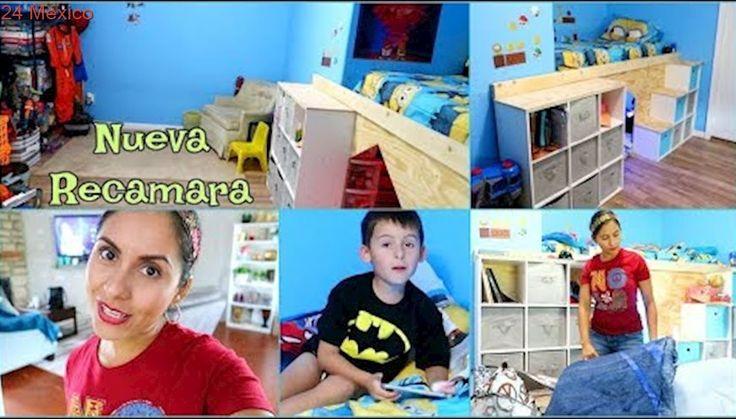 La Mejor Recamara Que un Niño de 6 años Puede Tener!!  Hecha por Mr. Gringo 💪🏼 - ♡IsabelVlogs♡