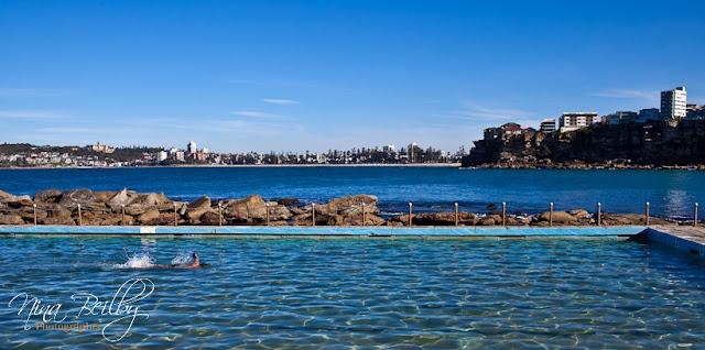 Outdoor beach swimming pool, Freshwater Beach
