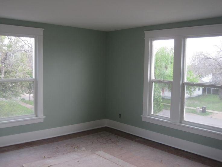 Antique Jade by Benjamin Moore walls - master bedroom?