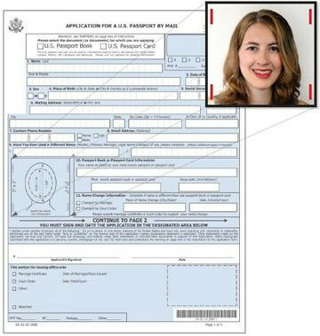 Best  Passport Renewal Application Form Ideas On