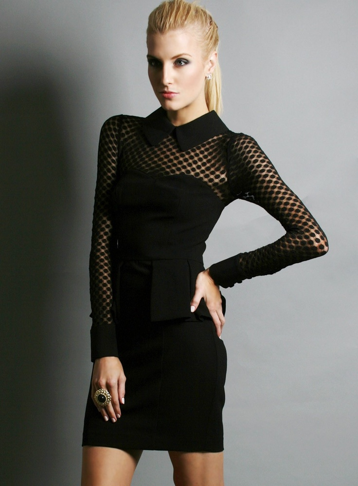Pony Lace Dress by Honey & Beau - Gosh Celebrity Fashion Online