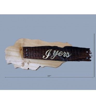 Wooden Name Plate @ Rs 1500 Free Home Delivery Available across India.