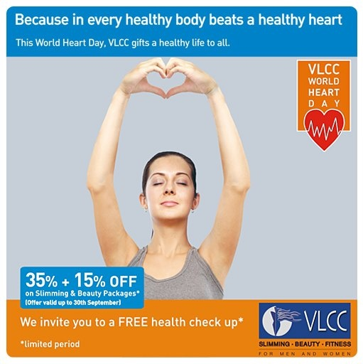 A gift for you from VLCC on this World Heart Day!