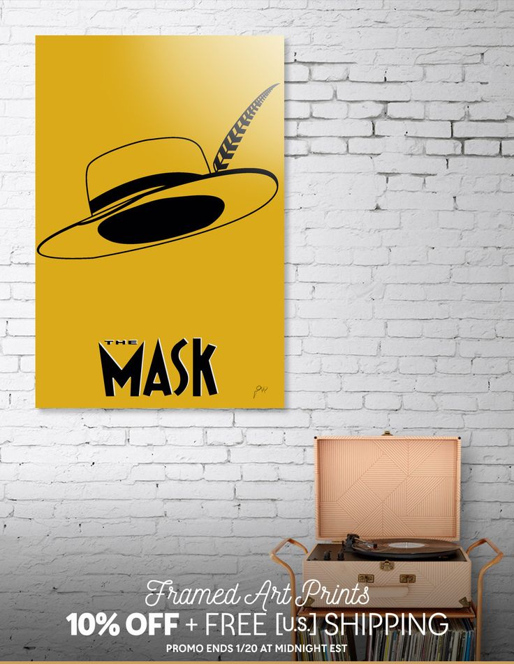 Discover «The Mask», Limited Edition Aluminum Print by Omar Gonzalez - From 95€ - Curioos