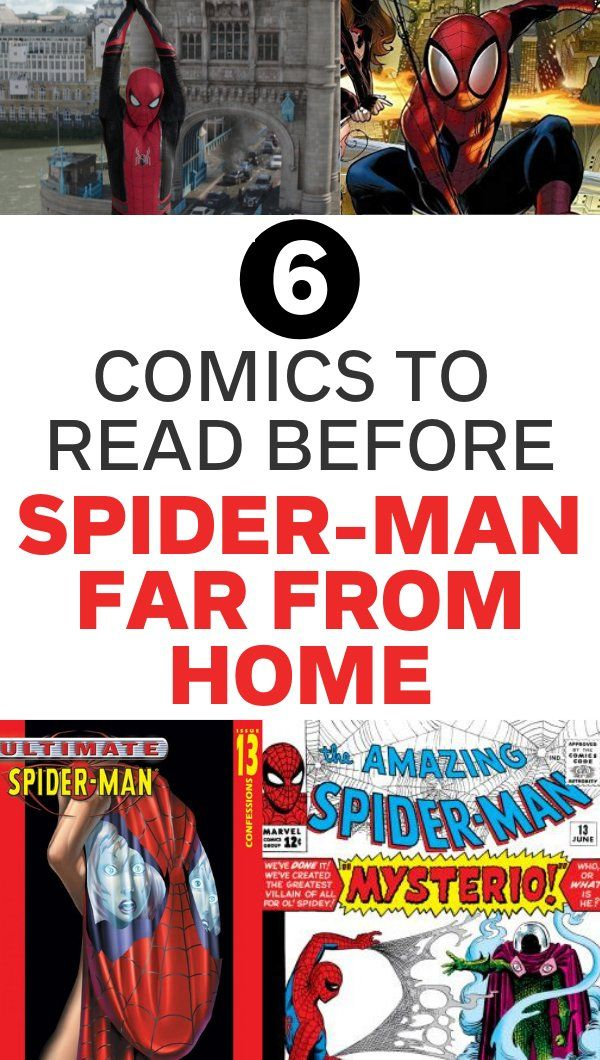 6 Comics to Read Before Spider-Man Far From Home, Spider-Man comics