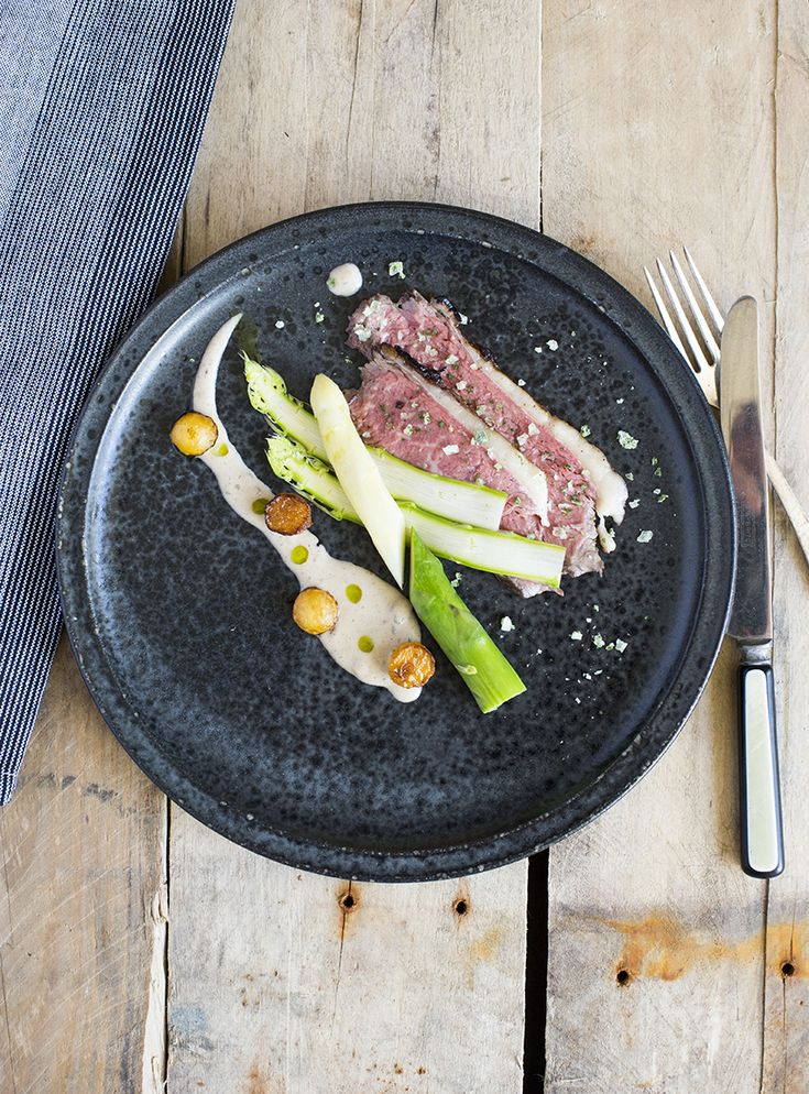 Okseculotte sous vide / Sous Vide beef roast