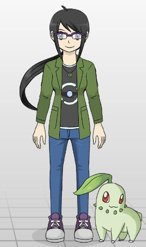 Pokemon Trainer me!  http://joy-ling.deviantart.com/art/Pokemon-Trainer-Creator-401165483