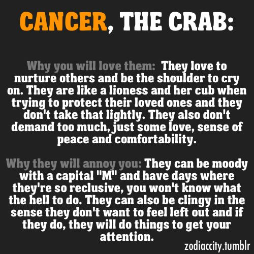 17 best images about crabby cancer on pinterest ruby red for Cancer horoscope elle