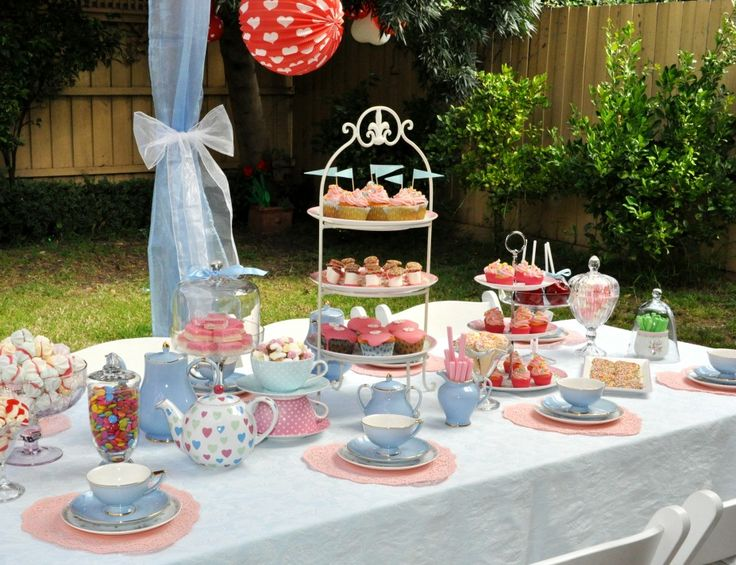 tea party ideas mad hatters tea party