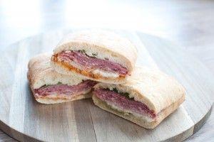 Recept: Italiaanse sandwich