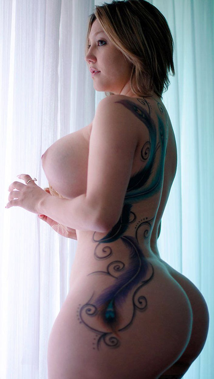 Tattoo fat nacked girls ass