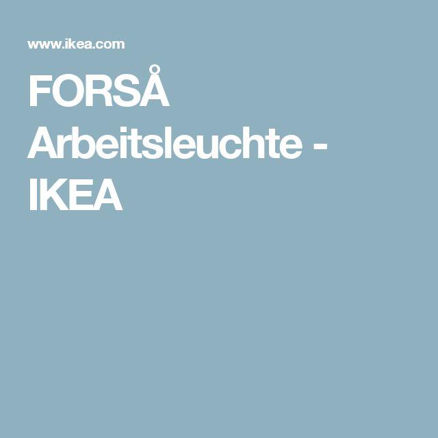 FORSÅ Arbeitsleuchte   - IKEA