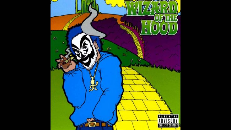 Violent J replaces Dorothy (Insane Clown Posse does The Wizard of Oz)