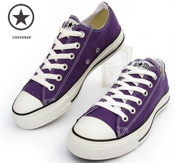 Purple Converse... I just got these today!