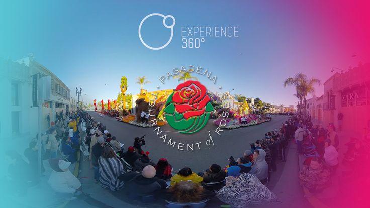 Allen Eagle Escadrille @ the Rose Parade in 360°4K | A Virtual Reality ...