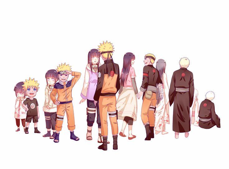 Naruto and Hinata SO CUTEEEEEDE AHHHH I LOVE IT
