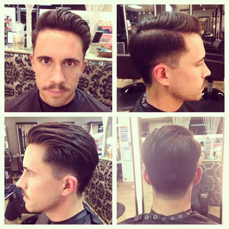 Men's haircut with fade by Samantha Singer www.Priscillasalon.com
