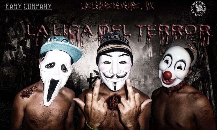 #Gaxppy #LosLeonesDementes  #LaLigaDelTerror #EasyCompany #Rap #HipHop