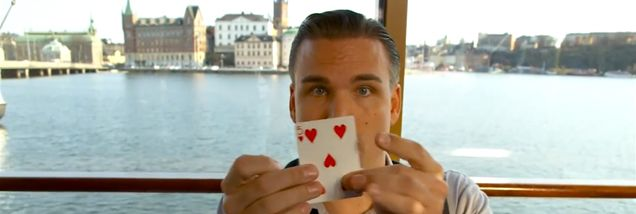 Amazing card trick explains why Stockholm is the best city in the world