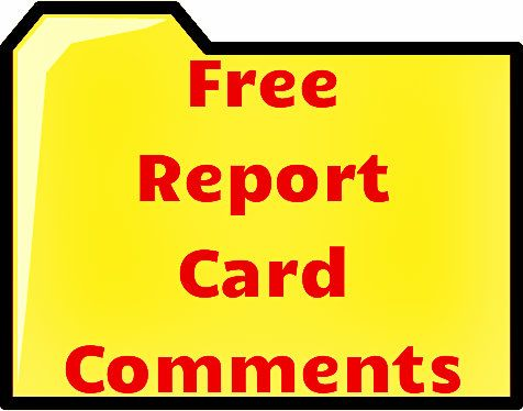 172 best Report Cards images on Pinterest A well, Anchors and At - sample school report