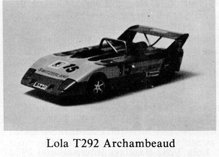Lola T292, Team Archambeaud, European 2Litre Sports Car