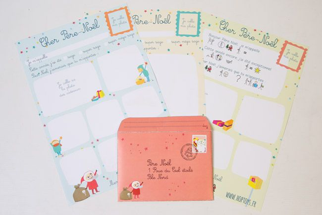 Téléchargez la lettre au Père Noël C'est bientôt Noël ! Il est temps de préparer la liste de cadeaux et d'envoyer une lettre au Père Noël. A cette occasion, nous vous proposons 3 modèles de lettres (dont une version en pictogrammes) et une enveloppe à télécharger et imprimer.