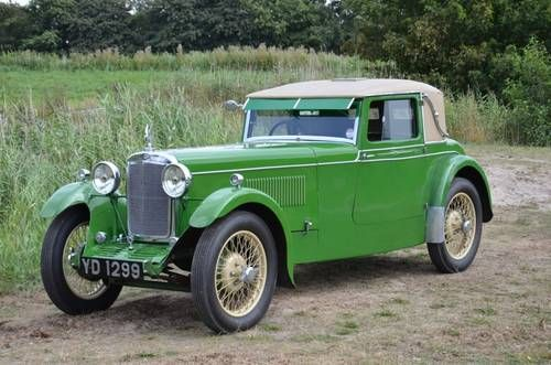 1931 Standard Avon Coupe 16HP