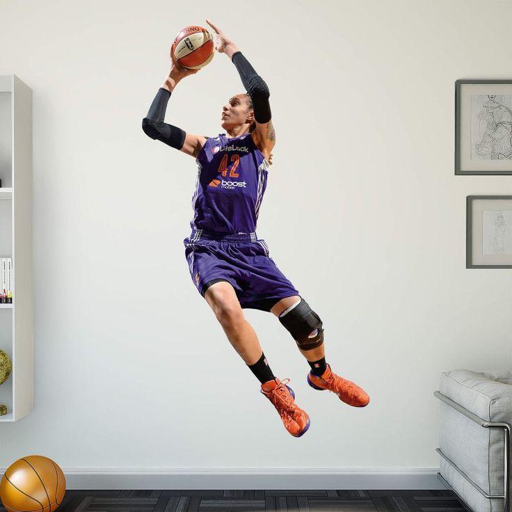 Fathead WNBA Phoenix Mercury Brittney Griner Wall Decal - 22-20376