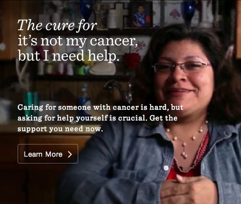 #LIVESTRONG has support services for cancer caregivers, too. #DailyCures