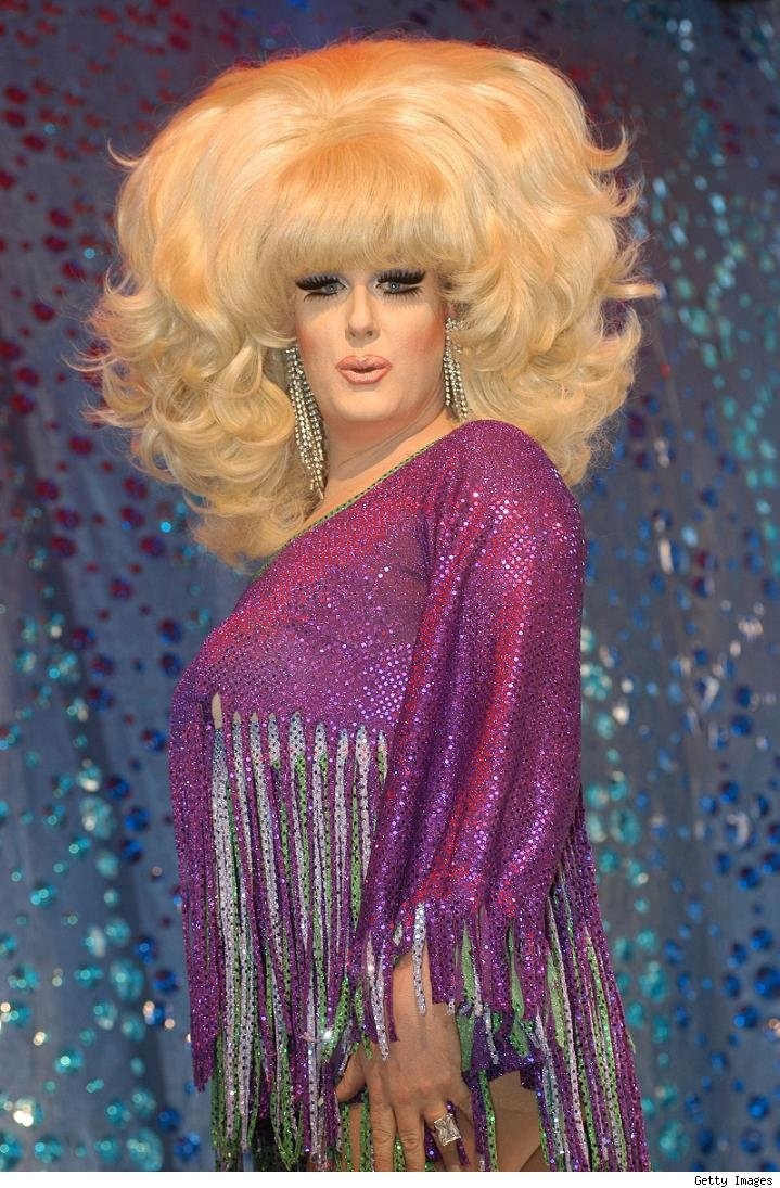 Drag Queen Make Up: 17 Best Images About Lady Bunny On Pinterest
