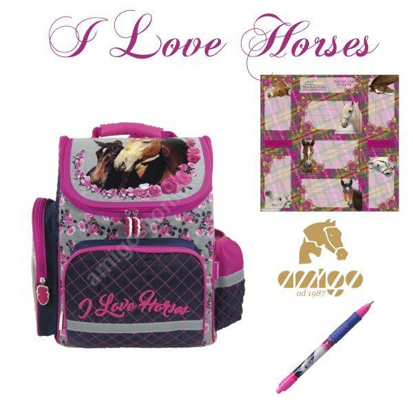 Swietny Pomysl Na Mikolajkowy Prezent Dla Malego Koniarza Plecak Naklejki I Dlugopis Z Konmi Na Pewno Ucieszy Milosnika Koni Horses