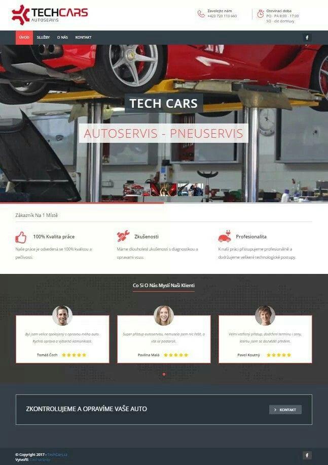 TECH CARS - Autoservis - Pneuservis