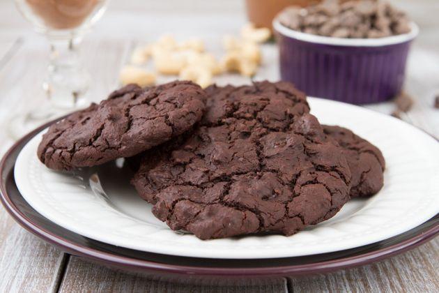 Grain-free and Vegan Flourless Fudge Cookies Healthful Pursuit | Healthful Pursuit