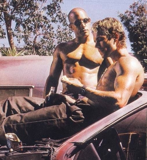 "Vin Diesel Shares Old Paul Walker Picture:  ""A song comes to mind... with this throwback pic....Has anybody here, seen my old friend Pablo... Can you tell me where he's gone... he helped a lot of people, but it seems the good die young, I just looked around and he was gone..."