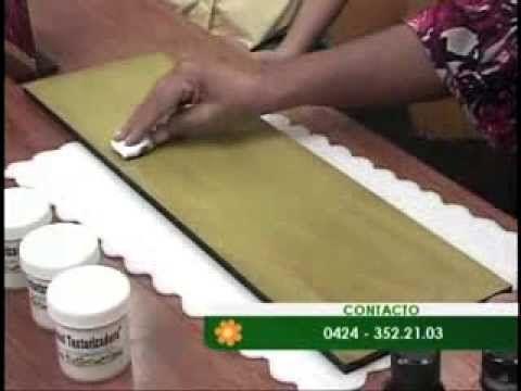 Mariela Acosta, Tecnica cascara de cebolla III - YouTube