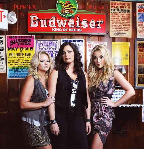 "The Pistol Annies: Miranda Lambert, Ashley Monroe, Angaleena Presley.  Girl Power.  ""One's drinkin, one's smokin, one's takin pills."""