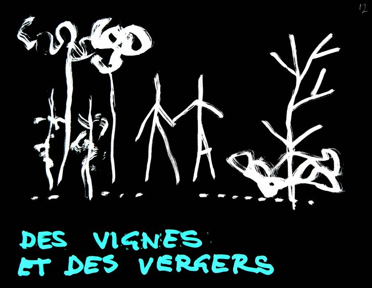 VIGNE MUSEUM by Yona Friedman and Jean-Baptiste Decavèle for LIVIO FELLUGA 100 - sketch by Yona Friedman