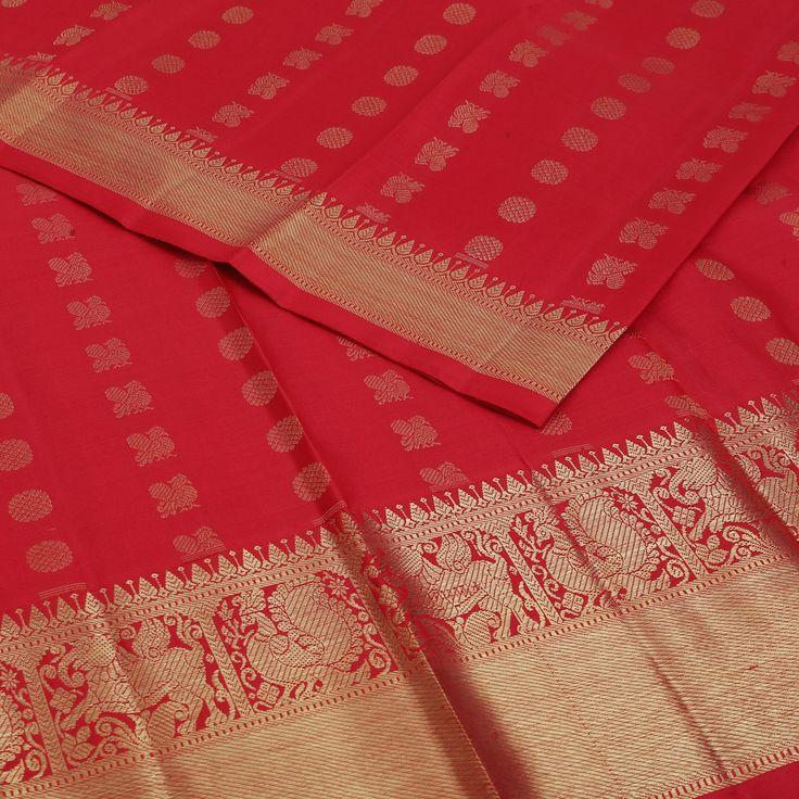 Sarangi Handwoven Kanjivaram Silk Saree - 650126636 | Sarangi * Feel Beautiful