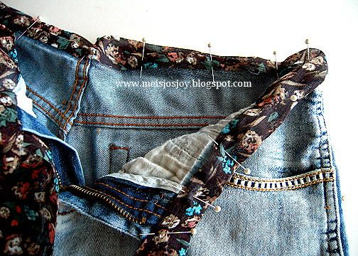 Meijos Joy: How to stretch Jeans at the Waist! Easy n Low Sew! make new waistband for jeans - could be handy if you waist has got fatter but your thighs haven't. If your thighs have also got fatter they'll still be too tight and you'll just have to diet or exercise.