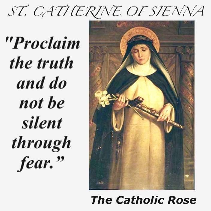Saint Catherine Of Siena Quotes: 1195 Best Catholic Sayings, Quotes, Words, And Scripture