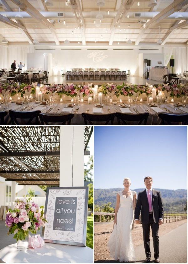 Solage Calistoga Wedding By Fleurs De France