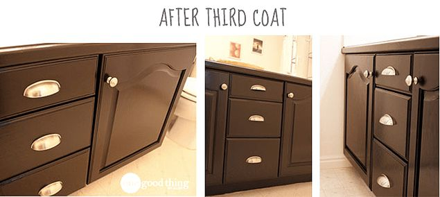 Give Your Bathroom Vanity A Facelift | Bathroom cabinet ...